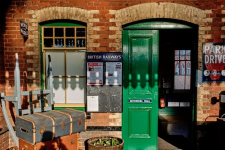 Station Entrance Jigsaw Puzzle