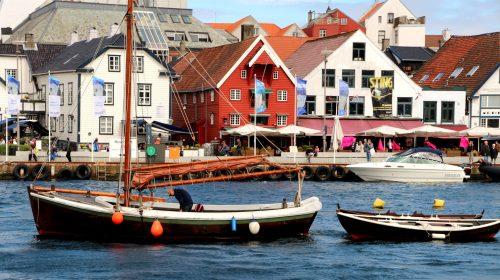 Stavanger Harbor Jigsaw Puzzle