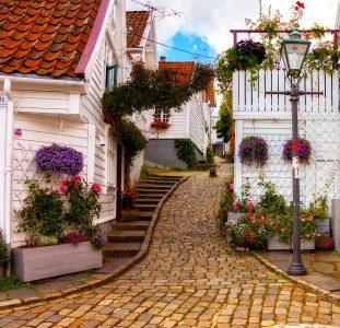 Stavanger Lane Jigsaw Puzzle