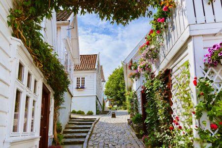 Stavanger Street Jigsaw Puzzle