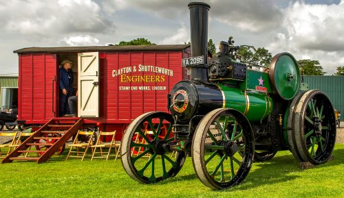 "Steam Engine ""Dorothy"" Jigsaw Puzzle"