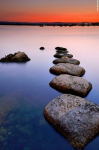 Stepping Stones Jigsaw Puzzle