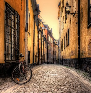 Stockholm Street Jigsaw Puzzle