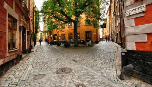 Stockholm Streets Jigsaw Puzzle