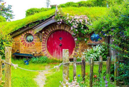 Stone Hobbit House Jigsaw Puzzle