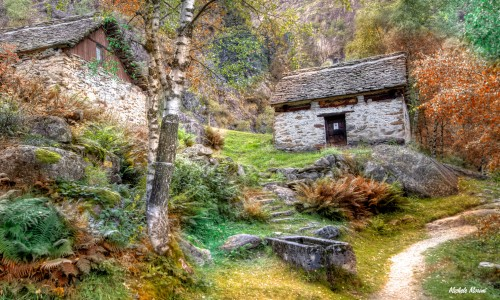 Stone Houses Jigsaw Puzzle
