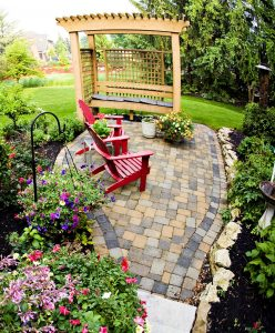 Stone Patio Jigsaw Puzzle