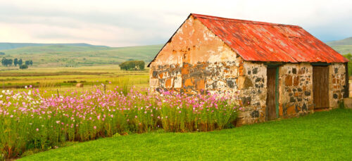 Stone Shed Jigsaw Puzzle