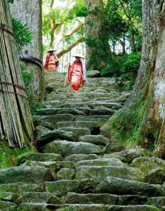 Stone Steps Jigsaw Puzzle
