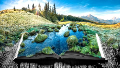 Storybook View Jigsaw Puzzle