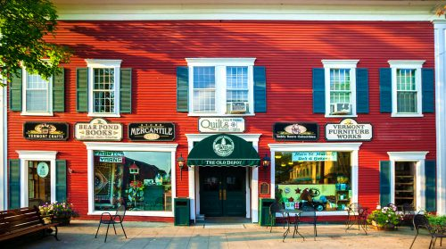 Stowe Shops Jigsaw Puzzle