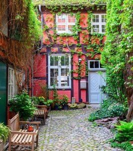 Stralsund Alley Jigsaw Puzzle