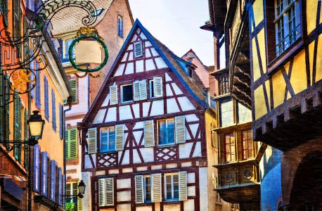 Strasbourg Colors Jigsaw Puzzle