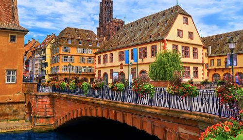 Strasburg Bridge Jigsaw Puzzle
