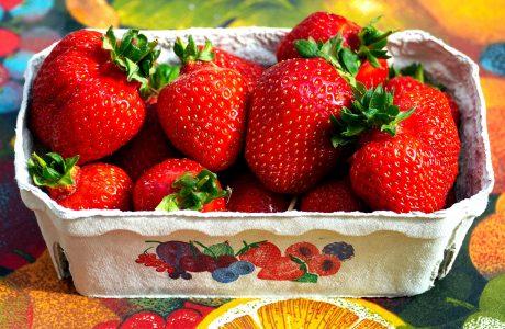 Strawberry Carton Jigsaw Puzzle