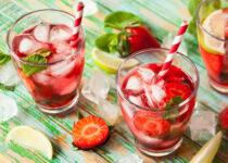 Strawberry Refreshments