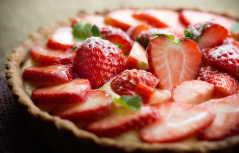 Strawberry Tart Jigsaw Puzzle