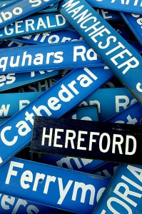 Street Names Jigsaw Puzzle