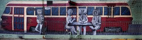 Streetcar Mural Jigsaw Puzzle