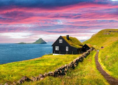 Streymoy Island House Jigsaw Puzzle