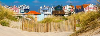 Striped Beach Houses