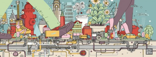 Subway Art 2 Jigsaw Puzzle