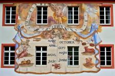 Sundial Mural