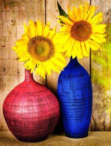 Sunflower Vases Jigsaw Puzzle
