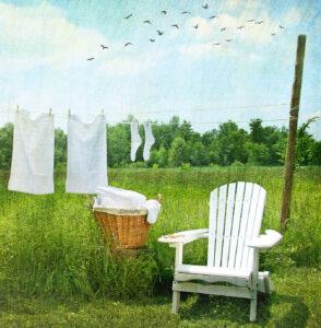 Sunny Laundry Jigsaw Puzzle