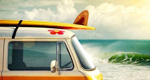 Surfer Van Jigsaw Puzzle