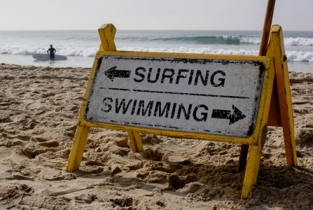 Surfing Swimming Jigsaw Puzzle
