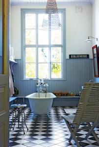 Swedish Bath Jigsaw Puzzle