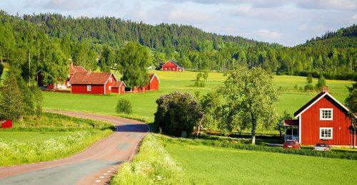 Swedish Countryside Jigsaw Puzzle