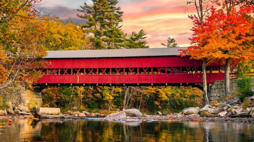 Swift River Bridge Jigsaw Puzzle
