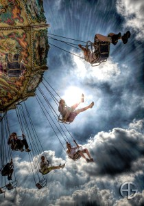 Swing Ride Jigsaw Puzzle