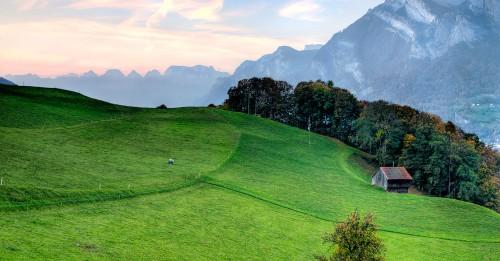 Swiss Alps Jigsaw Puzzle