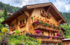Swiss Log House