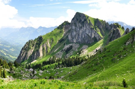 Swiss Mountain Jigsaw Puzzle