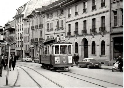Swiss Streetcar Jigsaw Puzzle