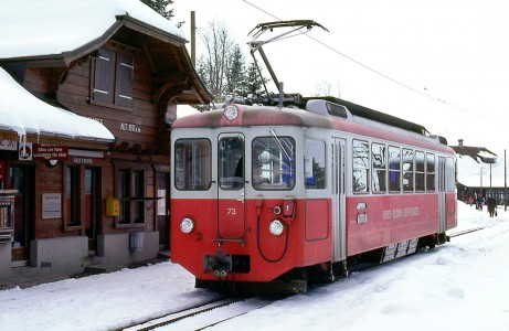 Swiss Tram Jigsaw Puzzle