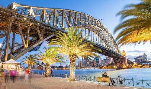Sydney Harbour Stroll Jigsaw Puzzle