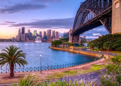 Sydney Harbour View Jigsaw Puzzle