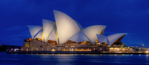 Sydney Opera House at Dusk Jigsaw Puzzle