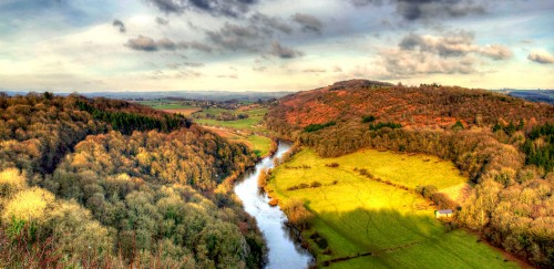 Symonds Yat Rock Jigsaw Puzzle