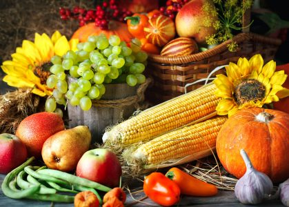 Table Harvest Jigsaw Puzzle