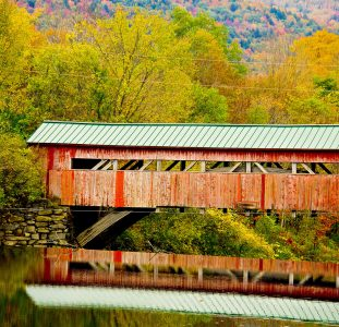 Taftsville Bridge Jigsaw Puzzle