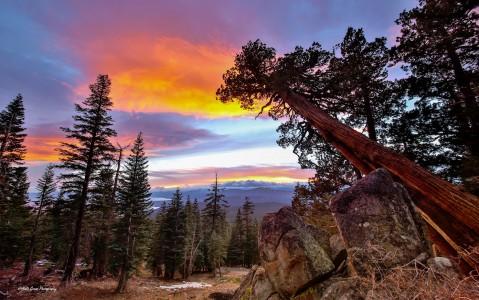 Tahoe Sunset Jigsaw Puzzle