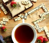 Tea and Dominoes