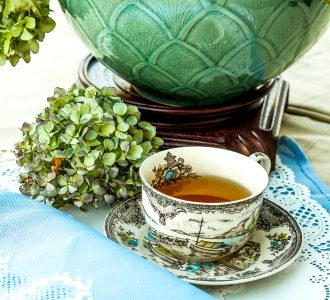Tea Setting Jigsaw Puzzle