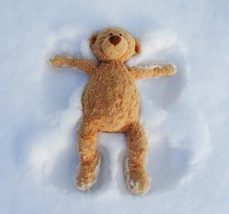 Teddy Bear Angel Jigsaw Puzzle